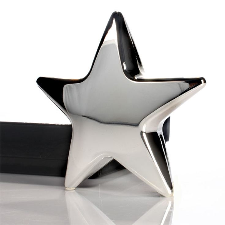 Personalised Silver Plated Star Paperweight product image