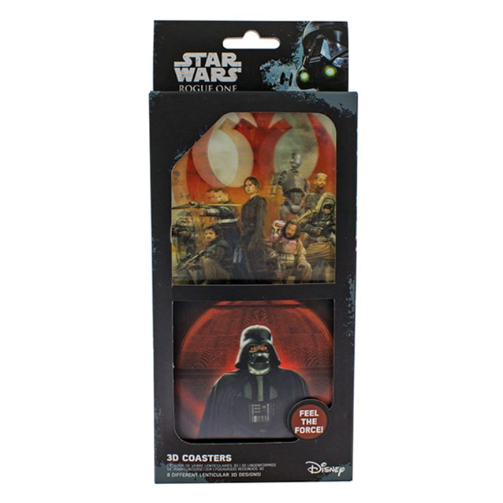 Star Wars Rogue One Set of 8 3D Coasters product image