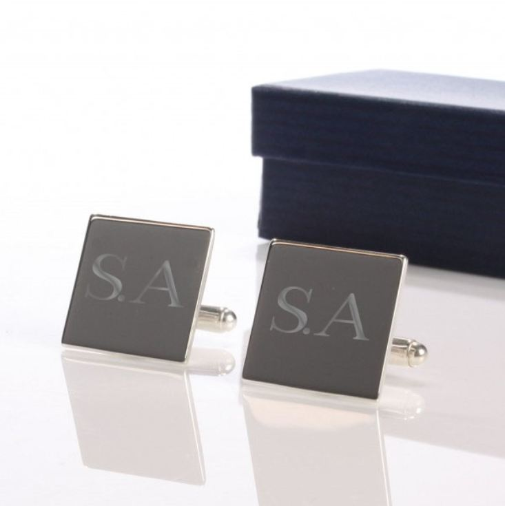 Personalised Sterling Silver Cufflinks product image