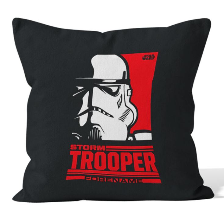 Personalised Star Wars Storm Trooper Pop Art Cushion product image