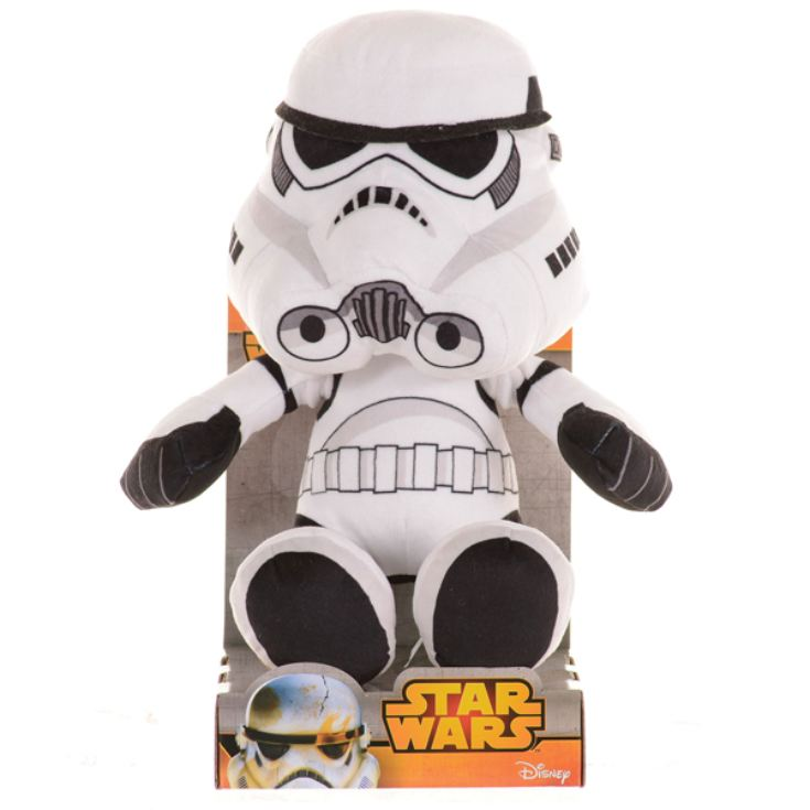 "Star Wars 10"" Storm Trooper Soft Toy product image"