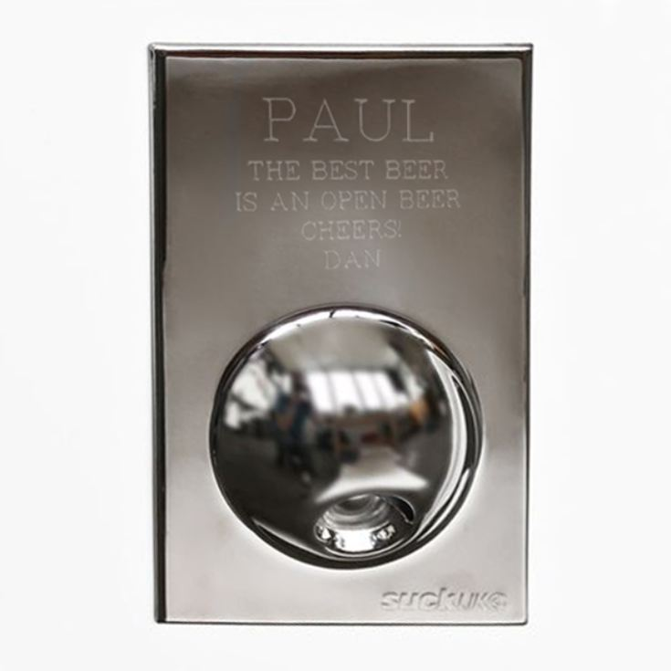 Personalised Fridge Magnet Bottle Opener product image