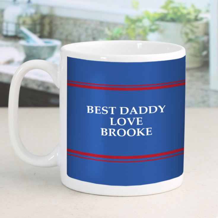 Super Dad Personalised Mug product image