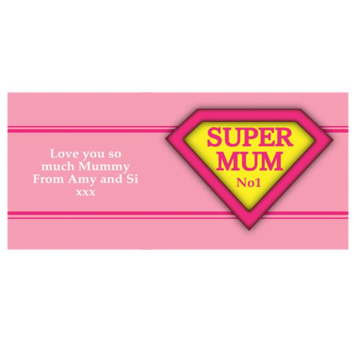 Super Mum Personalised Mug product image