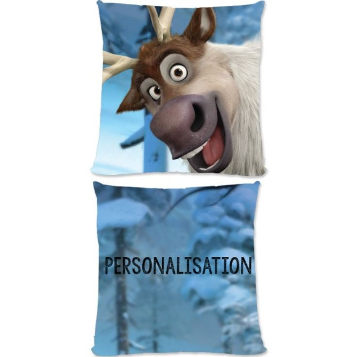 Personalised Disney Frozen Sven Small Cushion product image
