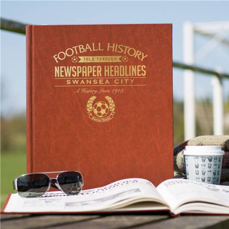 Personalised Swansea City Football Book product image