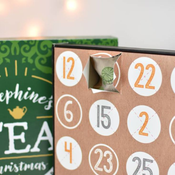 Personalised Tea Advent Calendar product image