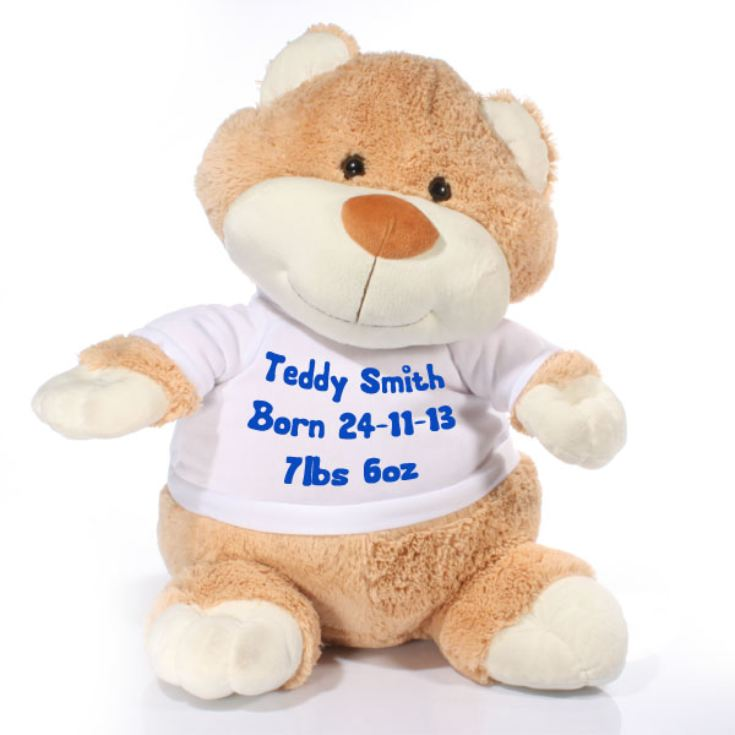 Extra Large Personalised Teddy Soft Toy product image