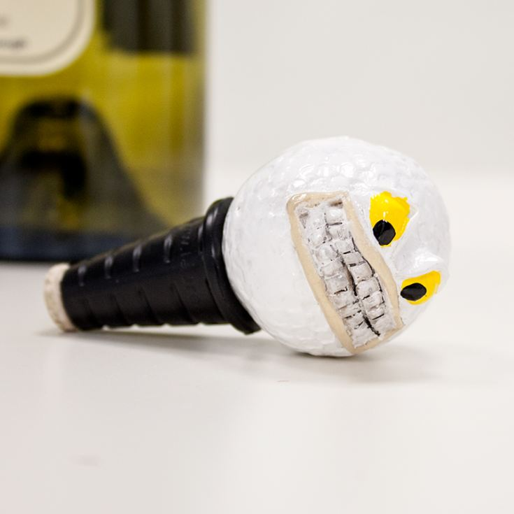 Tee'd Off Bottle Stopper product image