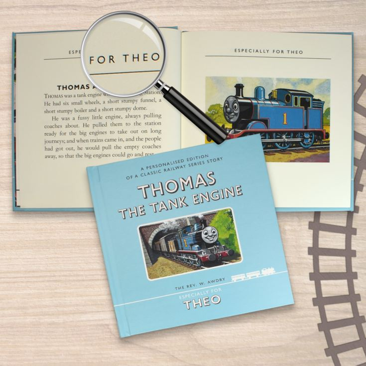 Personalised Thomas The Tank Engine Book product image