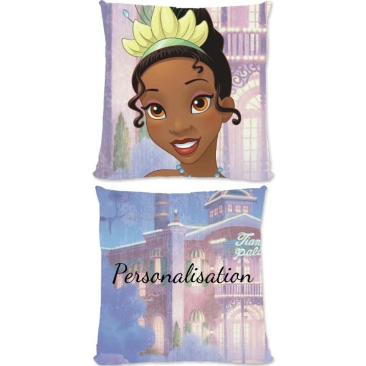 Personalised Disney Princess Tiana Large Cushion product image