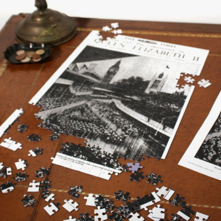 Times Jigsaw for a Specific Date product image