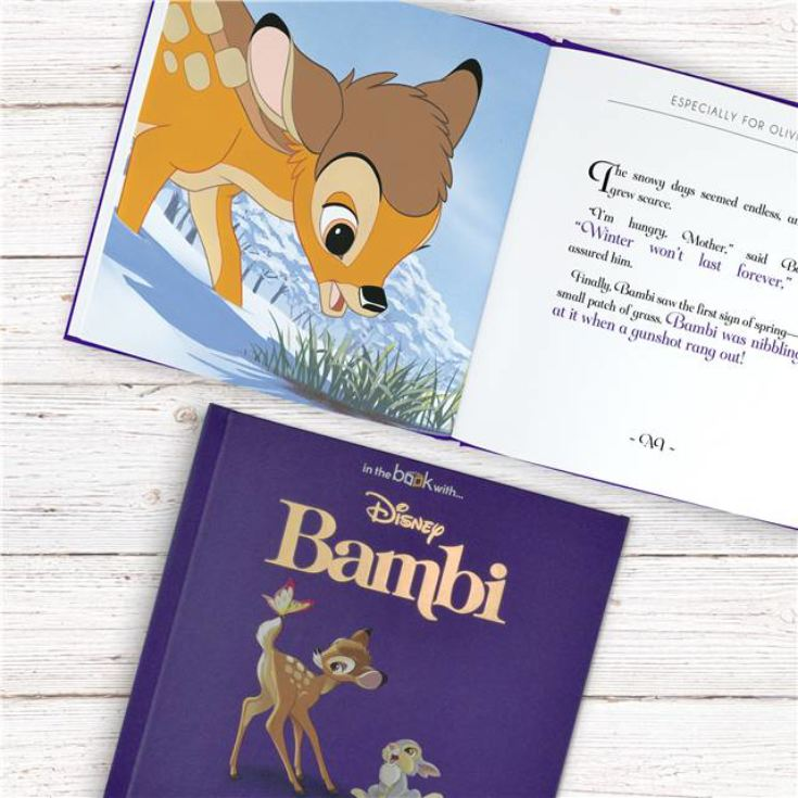 Timeless Bambi Personalised Book product image