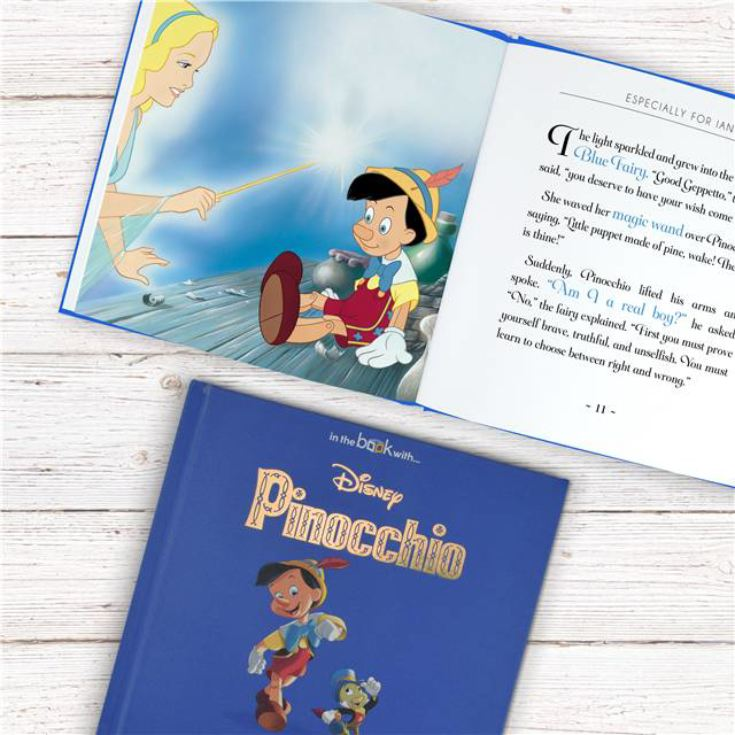 Timeless Pinnochio Personalised Book product image