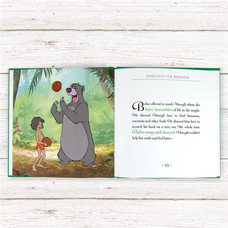 Timeless Jungle Book Personalised Book product image