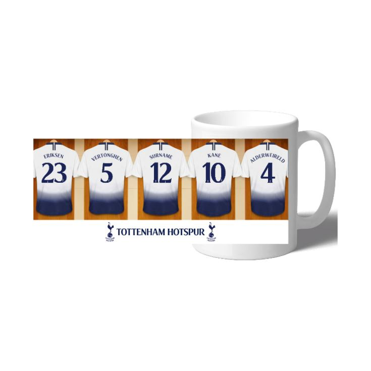 Personalised Tottenham Hotspur Dressing Room Mug product image