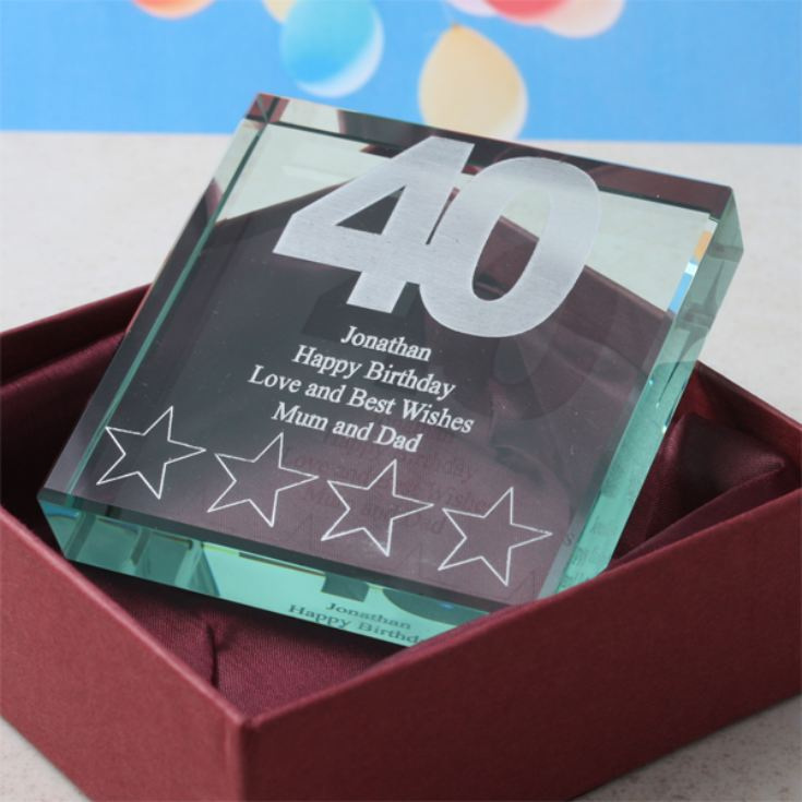 40th Birthday Keepsake product image