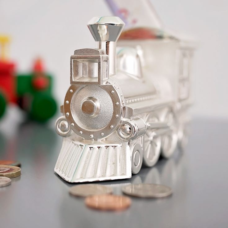 Personalised Page Boy Train Money Box product image