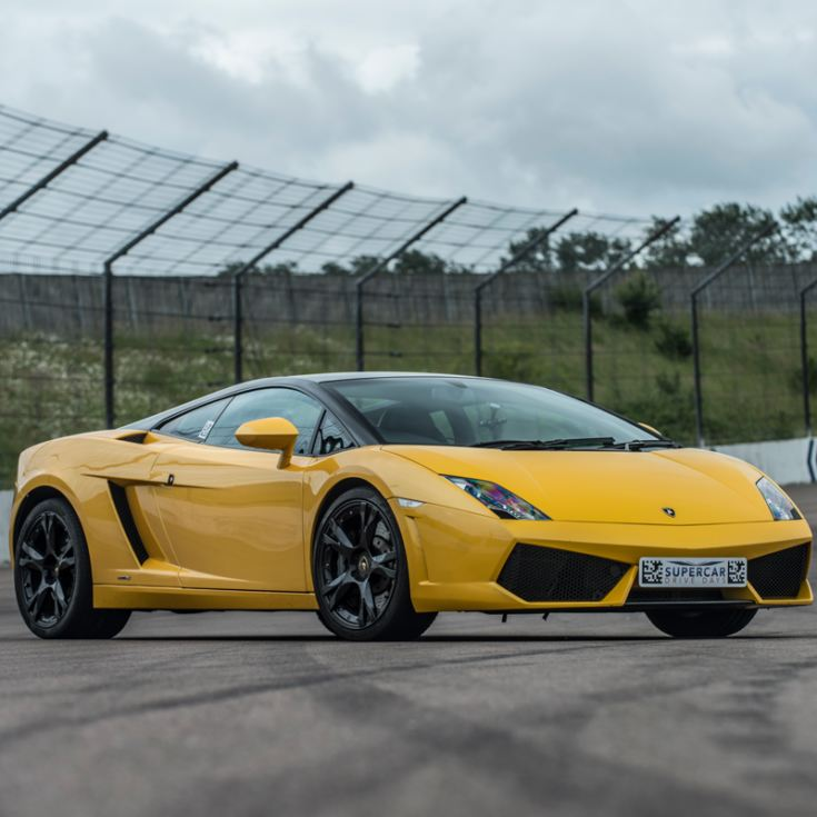 Triple Supercar Driving Blast with Free High Speed Passenger Ride - Week Round product image
