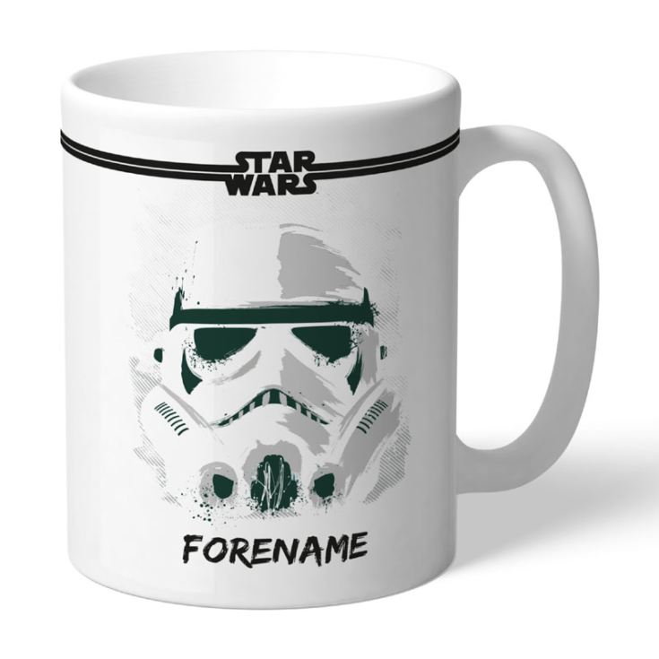 Personalised Star Wars Storm Trooper Paint Mug product image
