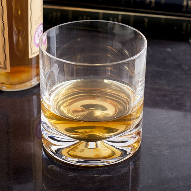 Personalised Dartington Dimple Double Lead Crystal Whisky Tumbler product image