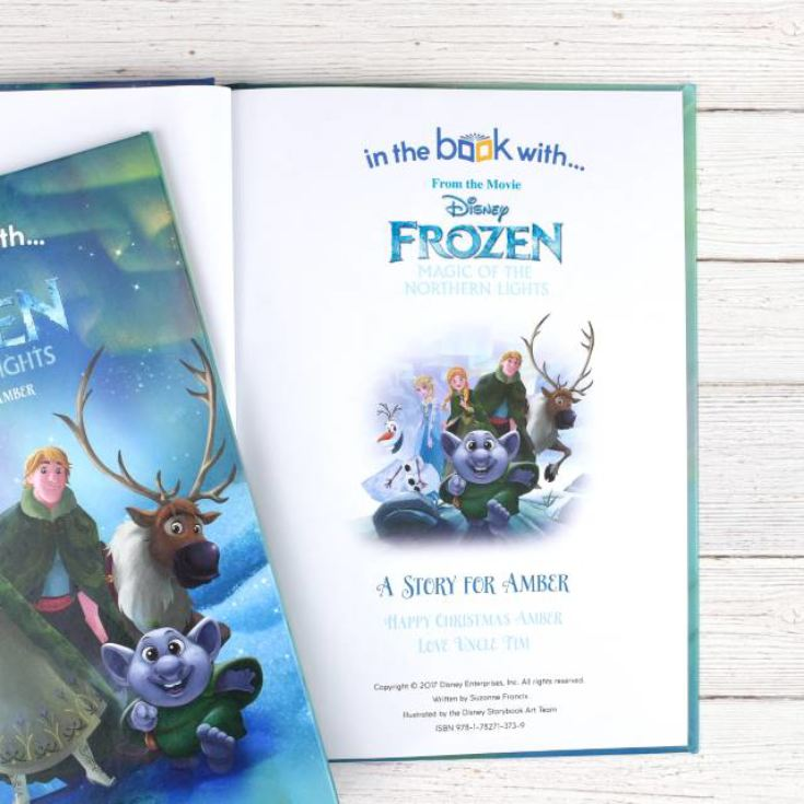 Disney Frozen Magic Of The Northern Lights Book product image