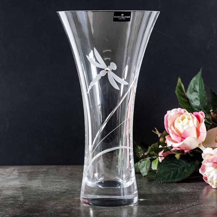 Dartington Glitz Dragonfly Large Vase product image