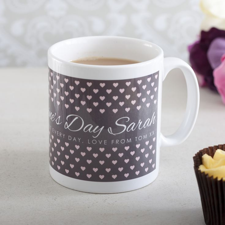 Personalised Happy Valentine's Day Mug product image