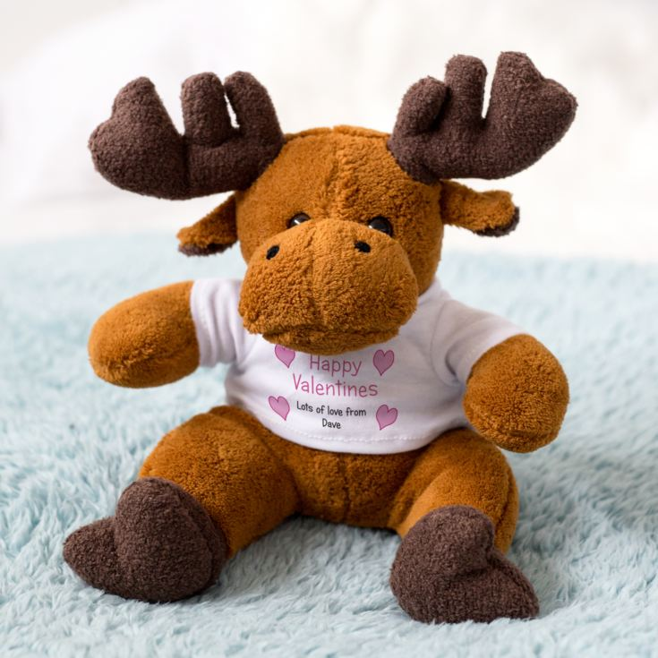 Valentine's Day Message Moose product image