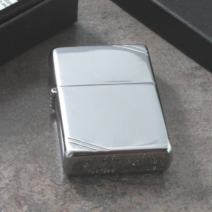 Personalised Vintage Chrome Zippo Lighter product image