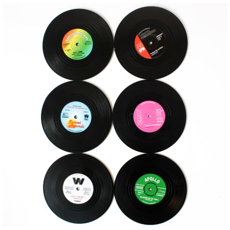 Retro Vinyl Coasters product image