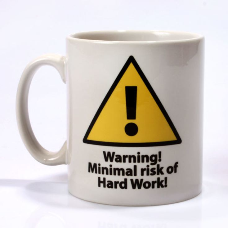 Personalised Minimal Work Mug product image