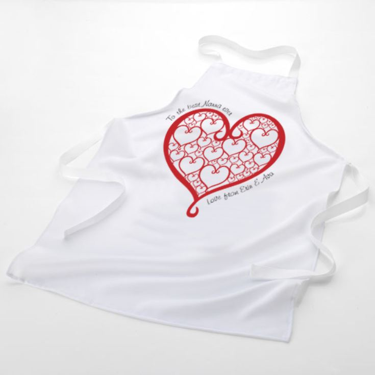 We Love Our Nanna Personalised Apron product image