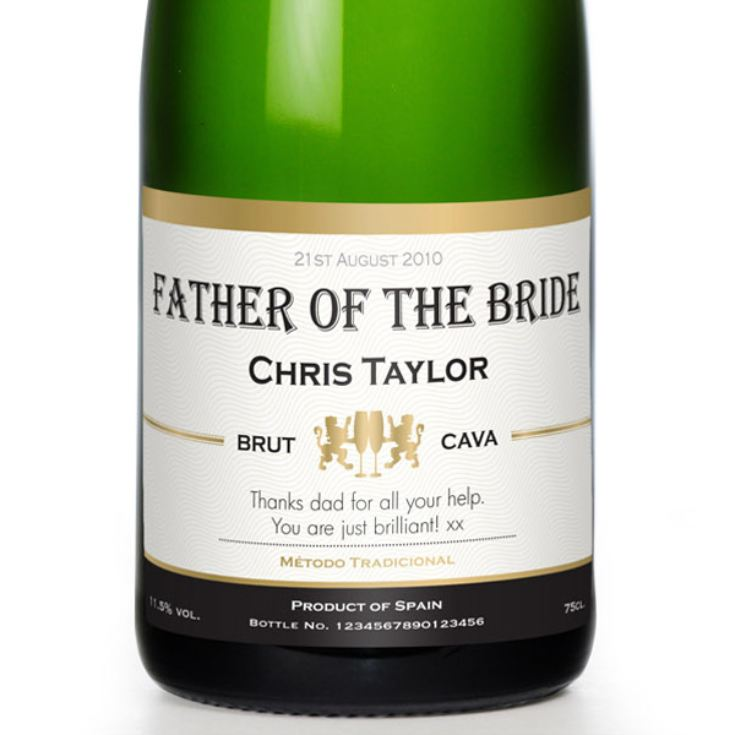 Personalised Wedding Party Cava product image