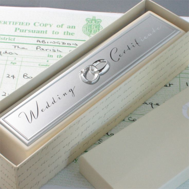 Amore Wedding Certificate Holder product image