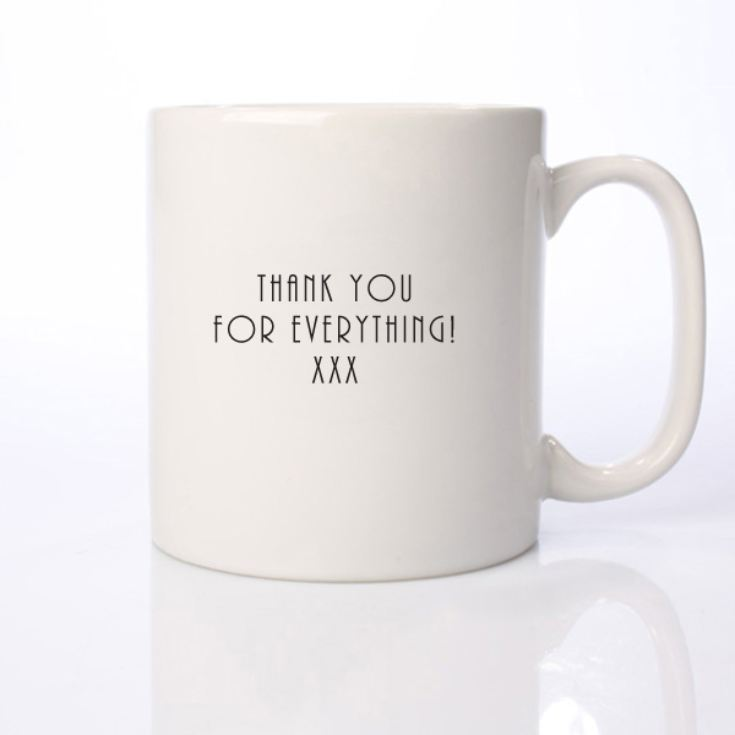Personalised Mother of The Bride Mug product image
