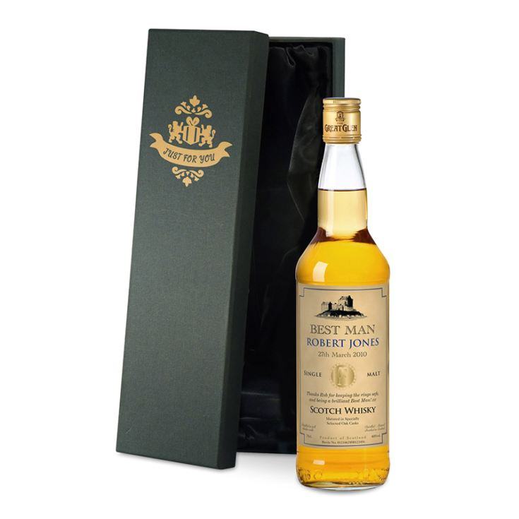 Personalised Father of Groom/Bride Malt Whisky product image