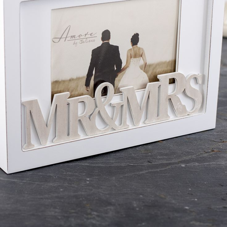 Personalised Amore Mr & Mrs Photograph Box product image