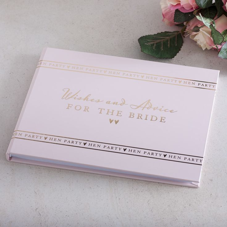 Personalised Hen Party Guest Book product image