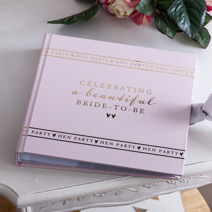 Personalised Bride To Be Hen Party Photo Album product image