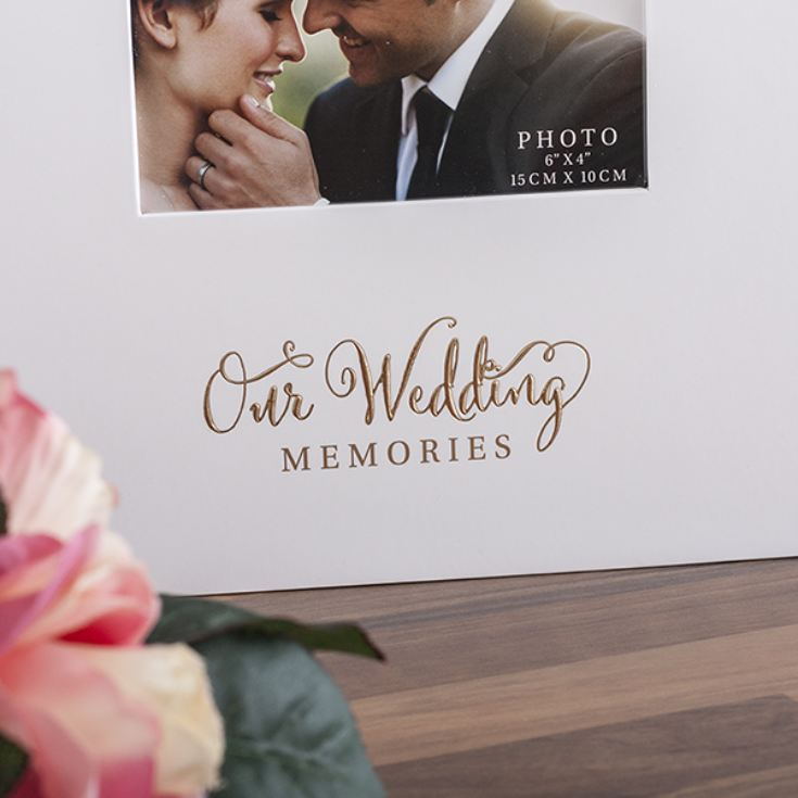 Mr Mrs Our Wedding Memories Photo Album The Gift Experience
