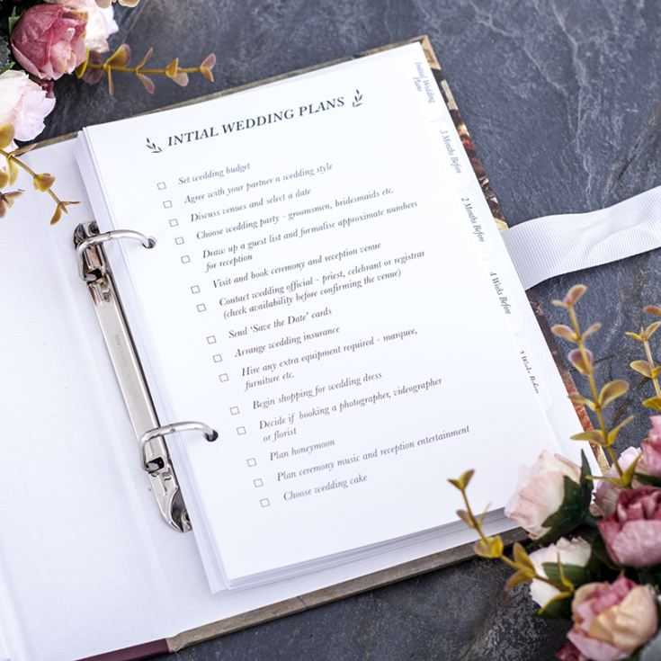 Signing The Register Wedding Planner product image