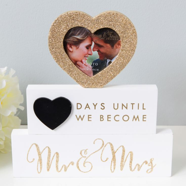 Countdown To Mr And Mrs Mantel Block product image