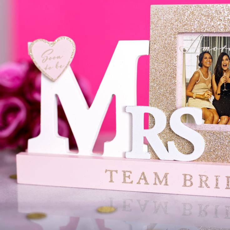 Amore Team Bride Mrs Mantel Photo Frame product image