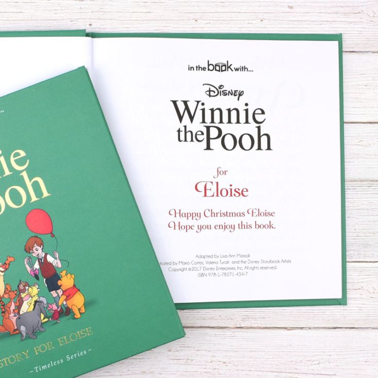 Timeless Winnie the Pooh Personalised Book product image