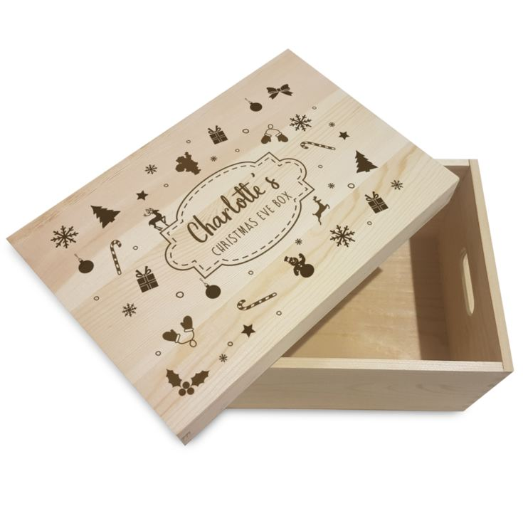 Winter Motif Personalised Christmas Eve Box product image
