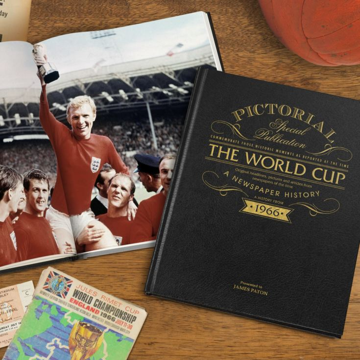 Personalised World Cup Football Book product image