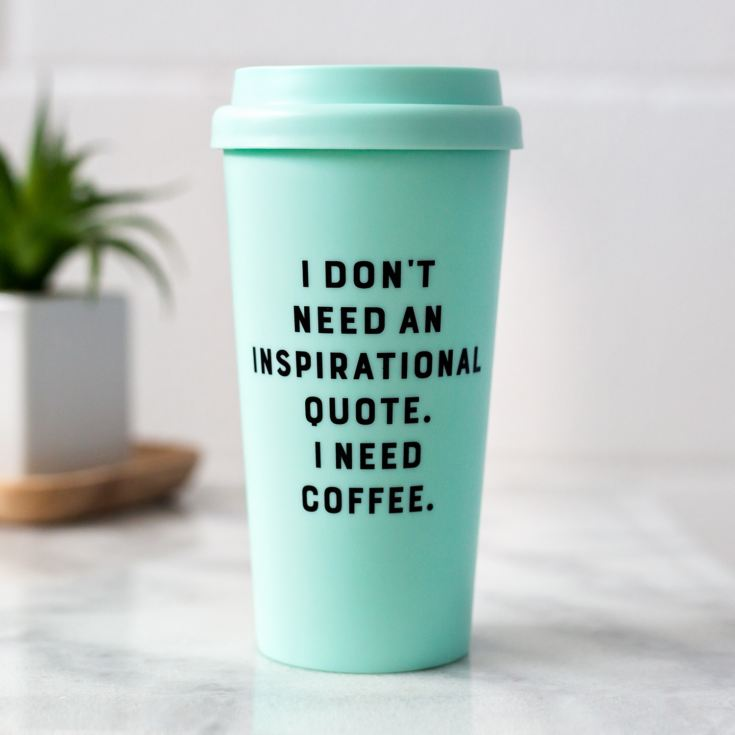 Yes Studio Travel Mug - I Don't Need product image