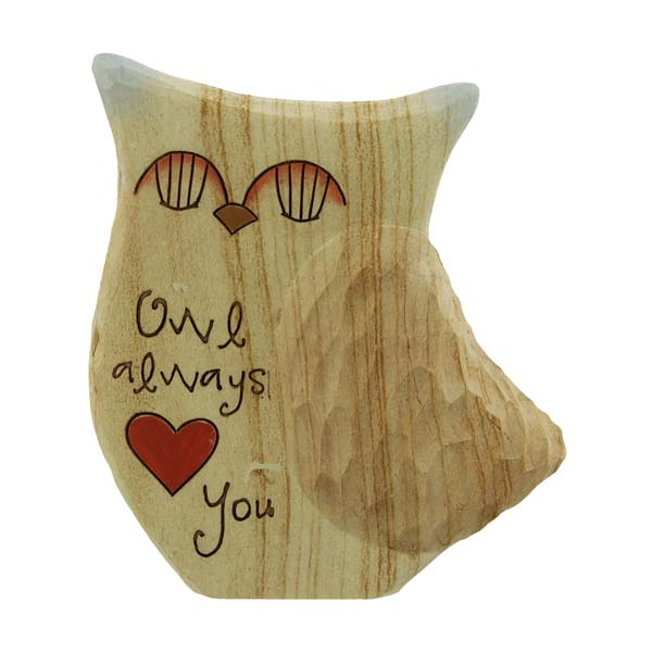 Owls Always Love You Figurine - Owls Gifts