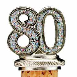 80 Years Bottle Stopper